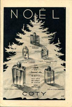 Modes et Travaux n° 576 - décembre 1948 - publicité pour les parfums Coty