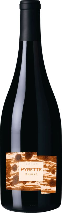 Bindi Pyrette Heathcote Shiraz 2014 Finely balanced and with excellent freshness A wine of elegance and finesse Great texture and drive to the wine. Wine Australia, Bindi, Champagne, The Unit, Texture, Drinks, Bottle, Beverages, Surface Finish