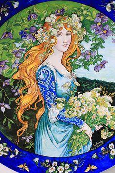 Magical Vintage de Johanne L: Elisabeth Sonrel.