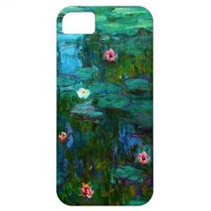 Monet Nympheas Water Lilies iPhone Case iPhone 5 Covers
