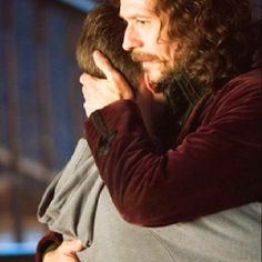 """Harry & Sirius. """"After all this is over, we'll be a proper family, you'll see."""""""