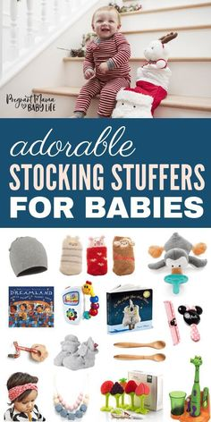 Dec 16, 2018 - The best stocking stuffers for babies and toddler. These items are cute and most importantly functional. Plus they are the perfect size (and price) to be perfect stocking stuffers for your baby or toddler.