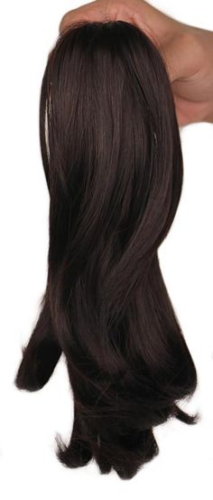 QQXCAIW Women Girls Curly Natrual Blonde Black Brown Claw Ponytail Hairpiece Clip in Synthetic Hair Extension Pony Tail