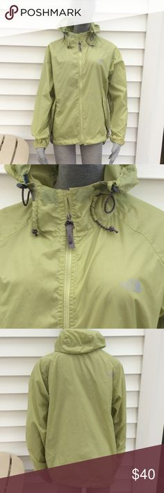 The North face hooded rain coat In excellent condition! The North Face Jackets & Coats Trench Coats