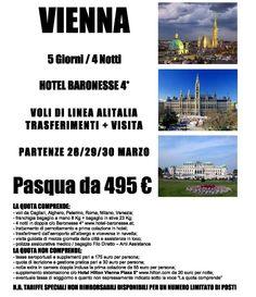 Pasqua a Vienna con voli di linea