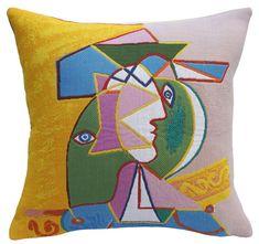 Pablo Picasso, Femme Au Chapeau (1934) (pillow)