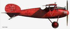 Albatros DV III Ritter Manfred Von Richthofen
