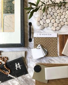 A nuanced palette influenced by a favorite piece by @amyopsal setting the stage for a welcoming, highly textural home. Organized by: Alison Giese Alice, Interior Design Boards, Interior Ideas, Material Board, White Countertops, Farmhouse Chic, Beige Area Rugs, Color Inspiration, Color Schemes