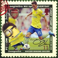 ⚽️ Futbol Stars 2013 @soegimitro - Mesut Ozil Minion
