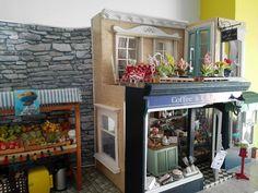 Pasteleria miniatura bakery coffee dollhouse gumball mercado verduras cupcake shop