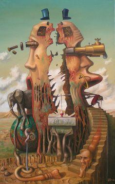 Przeciąganie słona przez ucho igielne (2006)m Jarosław Jaśnikowski