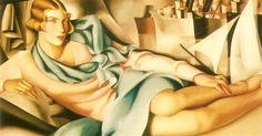 Potrait of Arlette Boucard, 1928 - Tamara de Lempicka