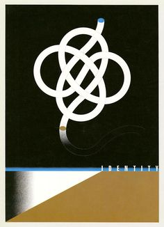 Japanese Poster: Identity. Ikko Tanaka. 1975 | Gurafiku: Japanese ...