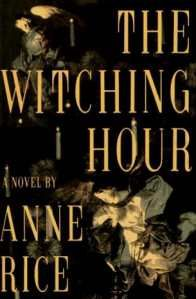 The Witching Hour ~ Anne Rice.  I never got into her other books but this series blew me away!!    In this engrossing and hypnotic tale of witchcraft and the occult spanning four centuries, we meet a great dynasty of witches--a family given to poetry and incest, to murder and philosophy, a family that over the ages is haunted by a powerful, dangerous and seductive being.