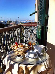 #breakfast at Ca del Sol #b&b #Sardinia #Italy :)