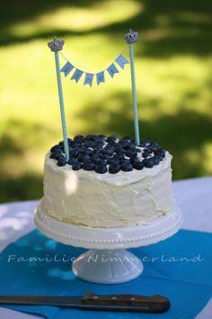 Blue Ombre Cake / Samuels Geburtstagskuchen