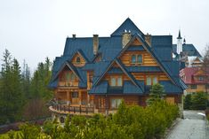 Wooden House in Zakopane Poland