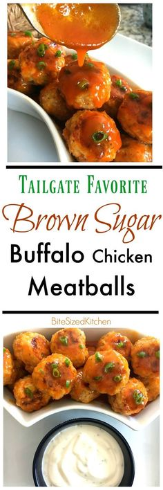 Easy Tailgate Buffalo Chicken Meatballs Appetizer This Is A Great Crock Pot Recipe And Perfect For Game Day Gluten Free And Made With Franks Red Hot Sauce Baked Meatballs Chicken Meatball Recipes, Buffalo Chicken Meatballs, Healthy Dinner Recipes, Appetizer Recipes, Party Appetizers, Lunch Recipes, Slow Cooker Recipes, Crockpot Recipes, Instant Pot