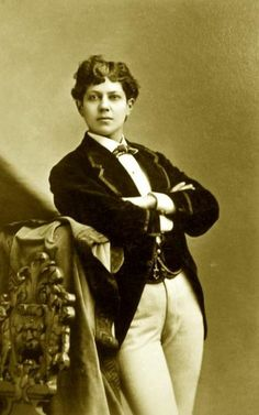 Ella Wesner, male impersonator 1841-1917