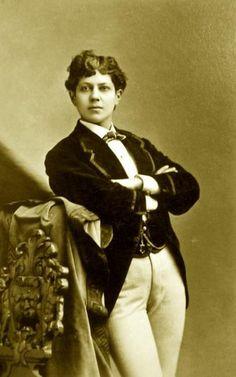 Ella Wesner, male impersonator 1841-1917