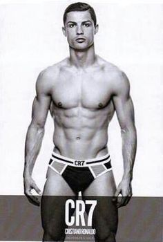 CR7... It MIGHT be Photoshopped... Doesn't look like his arms, but whatever!