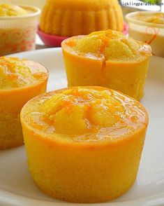Orange Muffins With Orange Glaze! If you have a citrus love affair, this is the recipe for you! Sweet, tart and beyond scrumptious! Great for breakfast, tea time or dessert!