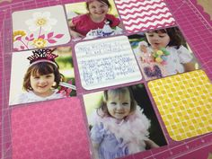 Create a birthday layout using Albums Made Easy. #albumsmadeeasy #wermemorykeepers #scrapbooking