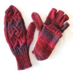 Glittens, Flip Down Cabrio Handschuhe - kann individuell konfektioniert werden