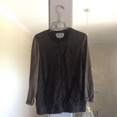 For Sale: Zara Green Bomber Jacket  for $60