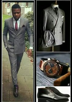 Simple yet classy African Men Fashion, Mens Fashion, My Man, Mens Suits, Style Me, Personal Style, Suit Jacket, Husband, Classy