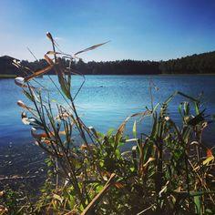cladelcroix:  Blue lake #wingles #lake #sky #instasky...