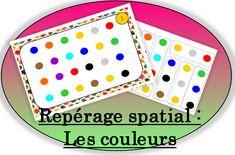Repérage Spatial : Le jeu des couleurs ( à construire avec des bâtonnets de glace ) - Pépinette à l'ecole