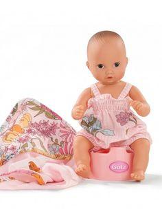 Gotz Aquini Girl with Potty Bath Doll, Baby Car Seats, Dolls, Children, Blog, Design, Home Decor, Baby Dolls, Young Children