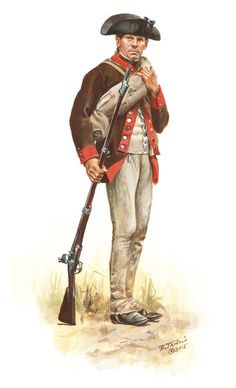 Don Troiani Historical Artist American Revolution: A soldier of the 12th Massachusetts Regiment in 1777 as he would have appeared during the Saratoga campaign.