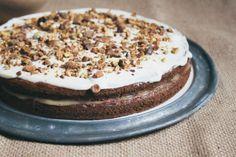 Tapas na Língua: Bolo de Courgette em Camadas :: Zucchini Layer Cake