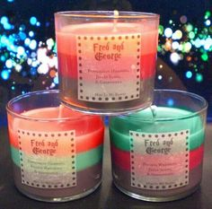 Fred n George Wesley candles