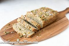 Low-carb Flax Meal Bread With Olive Oil Spray Flaxseed Meal Almond Flour Grat Peanut Butter Bread, Coconut Flour Bread, Almond Flour, Best Low Carb Bread, Keto Bread, Diabetic Snacks, Healthy Snacks For Diabetics, Healthy Breads, Healthy Food