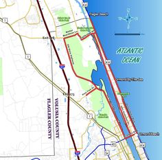 Ormond Scenic Loop & Trail (OSLT) is a 30+ mile double loop of roadways traversing some of the most beautiful and diverse natural scenery remaining in all of northeast Florida.