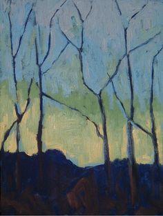 Trees (Paul Serusier) ♥ Inspirations, Idées & Suggestions, JesuisauJardin.fr, Atelier de paysage Paris, Stéphane Vimond Créateur de jardins ♥