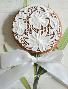My little bakery: lace cookies