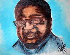 """Carver"" Drawing/Watercolor 2015 by indiaSheana www.indiaSheana.com"
