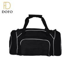 OEM customized large capacity portable foldable travel gym duffle bag for men