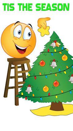 Image result for smiling emoji , christmas