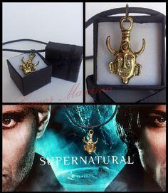 #Supernatural #SPN #Dean #Sam #Amuleto #Collana