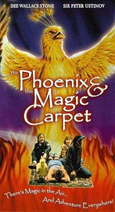 Phoenix & The Magic Carpet - 1995 1995 Movies, Top Movies, Movies To Watch, Movies And Tv Shows, Movie Gifs, Movie Tv, Dee Wallace, Vhs To Dvd, Internet Movies