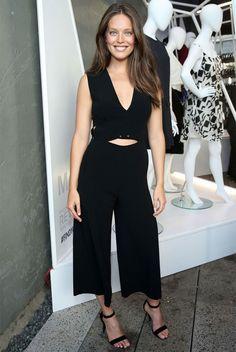 Emily Didonato está entre as celebs mais bem vestidas da semana.