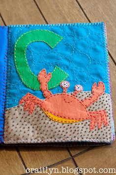 C is for Crab by simplykaits, via Flickr