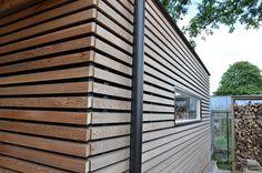 ORGA architect, sustainable architecture (Project) - Ecologisch bijgebouw met mooi houten lijnenspel - PhotoID #242554 - architectenweb.nl