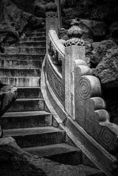 alatryste:    Stone Stairs on Flickr.  Via Flickr: Beijing, China, 2012. www.alatryste.com