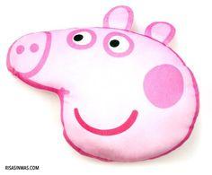 Cojín Peppa Pig.